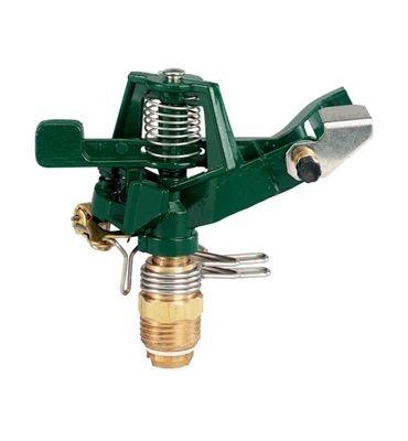 Orbit Zinc Impact Sprinkler Head for Yard Watering Tri-Lingual