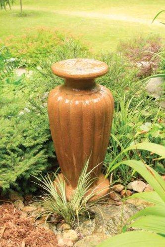 Aquascape Classic Greek Urn Fountain with Pump Powdered Terra Cotta X-Large