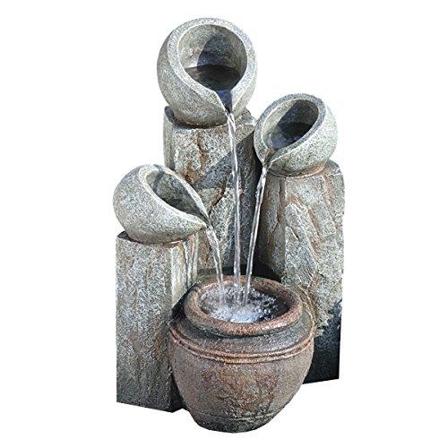 Design Toscano Hadrians Villa 4-Urn Garden Fountain