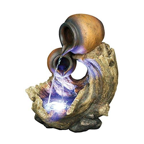 Design Toscano The Urns of Villa Adriana Cascading Garden Fountain