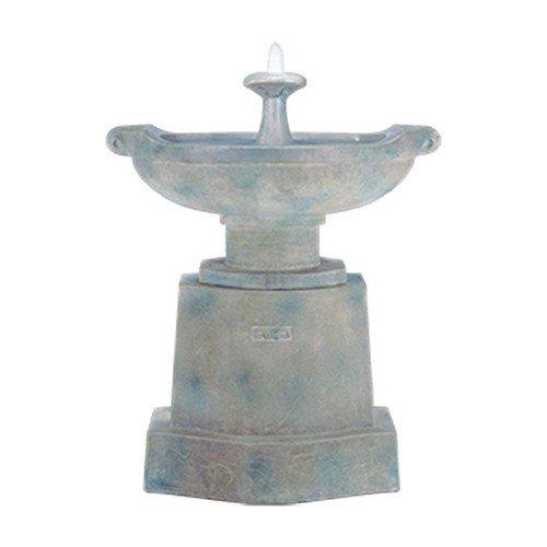 Henri Studio 3 Piece Prairie Urn Fountain Relic Ebony