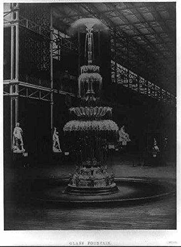 Infinite Photographs Photo Photo of Glass FountainHallExhibition MDCCCLILondonEngland1851Water