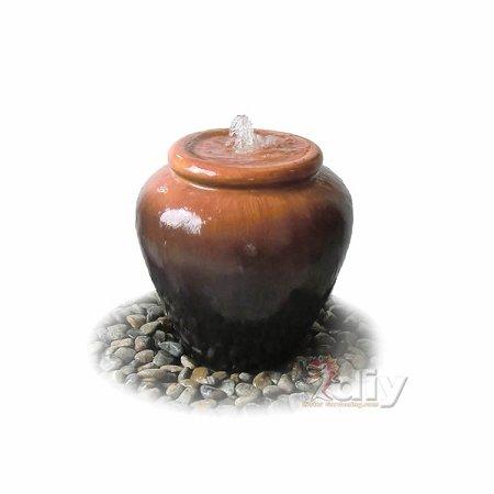Smooth Terra Vase Fountain - Tranquil Decor