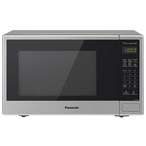 Panasonic Microwave Oven NN-SU696S Stainless Steel CountertopBuilt-In with Inverter Technology and Genius Sensor 13 Cu Ft 1100W Renewed