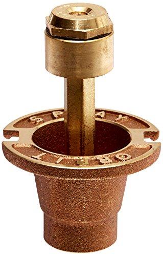 Orbit 54072 Sprinkler System 90 Degree Pattern 1-34-inch Brass Pop-up Spray Head