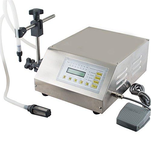 Digital Control Pump Drink Water Liquid Filling Machine 5-3500ml FROM USA STOCK