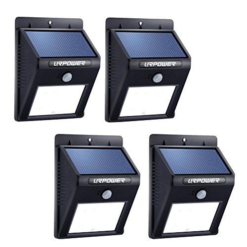 Solar Lighturpower 8 Led Outdoor Solar Powerdwireless Waterproof Security Motion Sensor Light For Patio Deck