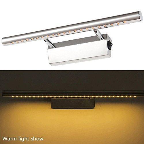 WEKA 5W LED Chic Rotated 180 Degree Anti-fog Bathroom Lighting Wall Light Lamp Warm White