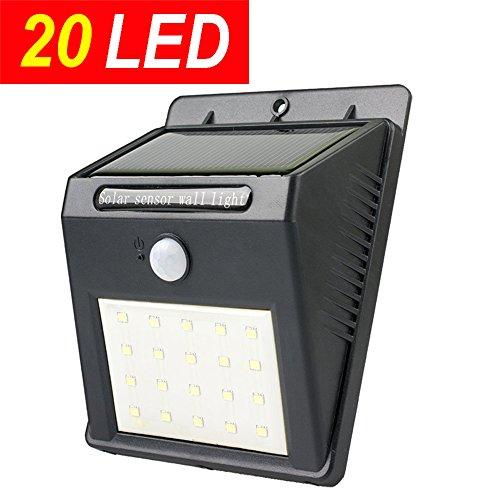 20led 4modes Upgraded Super Bright Sogrand Solar Motion Sensor Light Solar Lights Outdoor Solar Motion Activated
