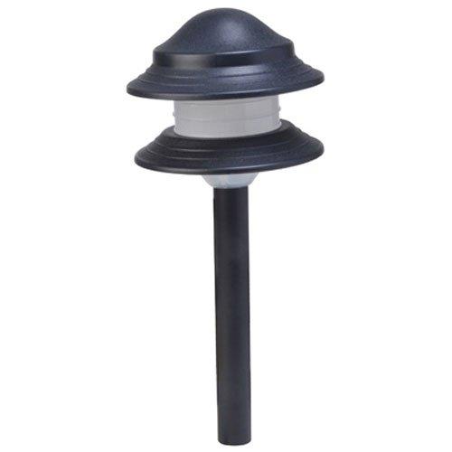 Moonrays 95561 LED Low Voltage Path Light Kit Black 8 Pack