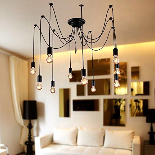 Lightinthebox Chandelier Vintage Design Bulbs Included Living 10 Lights Modern Home Ceiling Light Fixture Flush