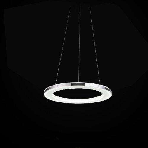 Lightinthebox Led Chandelier Modern Round Iron Acrylic Plating Modern Home Ceiling Light Fixture Flush Mount