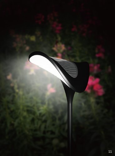Britta Products Solar Ray Garden Path Lighting Set of 3 Lamps