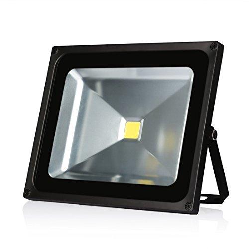 LEDMO 30W LED Flood Lights Waterproof IP65 for outdoor Daylight White 6000K 2400lm 150W Halogen Equivalent Security Lights Floodlight