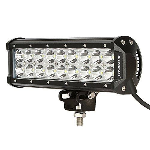 Auxbeam&reg 9&quot 54w Led Light Bar Cree Spot Beam 5400lm For Offroad Pick Up Trucks Suv 4wd Awd Atv Utv Boat Jeep Van