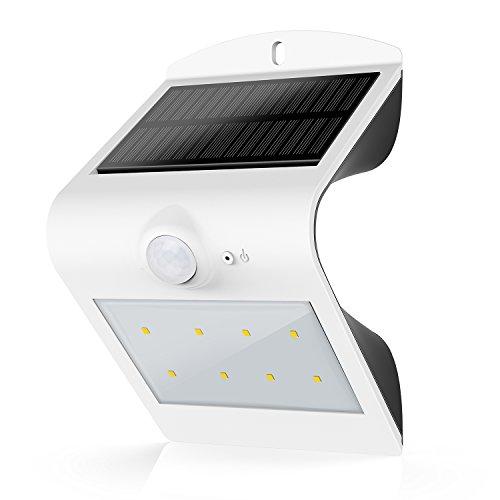 Honesteast Solar Lightsolar Powered Security Lighting Motion Sensor Outdoor For Garden Patio Deck Fence Exterior