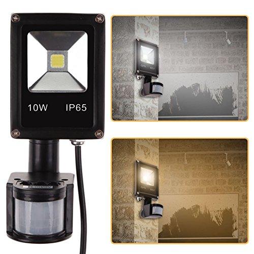 PIR LED Flood Light Motion Sensor Outdoor Lighting 10W AC DC 12V Waterproof IP65 Induction Sense Lamp Garden Light -All U Need