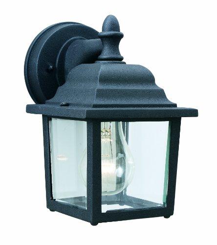 Thomas Lighting Sl9422-7 Hawthorne One-light Outdoor Wall Lantern Matte Black