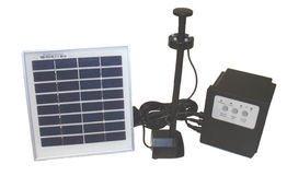 3 Watt Solar Powered Garden Water Pump - No Wiring