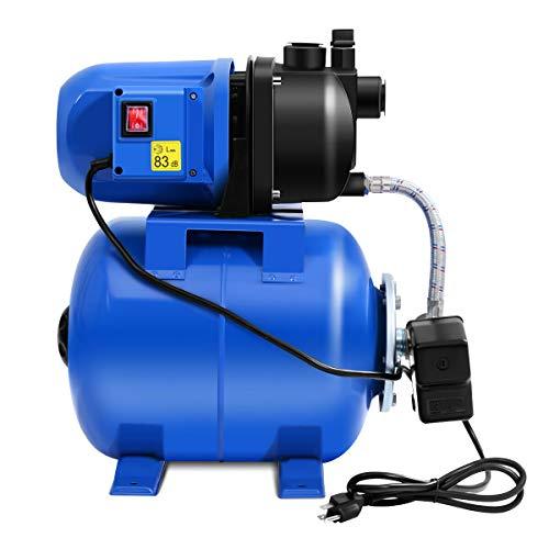 ARABYAN BROTHERS 1200W Garden Water Pump Shallow Well Pressurized Home Irrigation 1000GPH