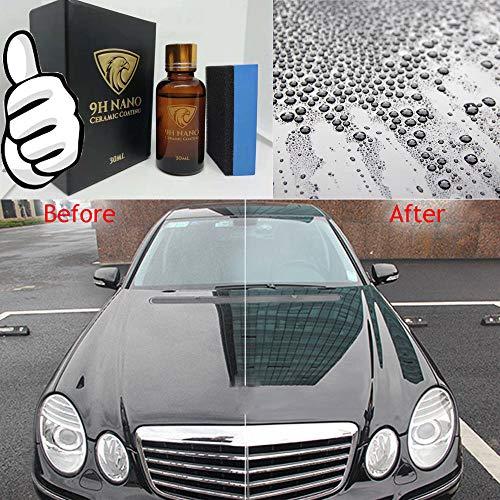 RONSHIN Phone AccessoriesLiquid Glass 9H Nano Hydrophobic Ceramic Coating Car Polish Anti-Scratch Auto Protector
