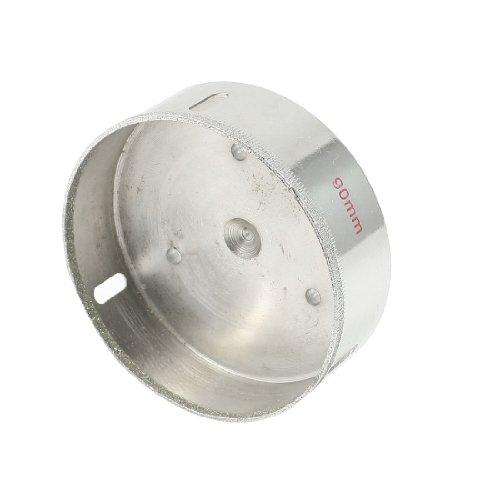 U-nique 10mm Dia Shaft 90mm Cutting Diameter Tile Ceramic Glass Hole Saw Drill Bit