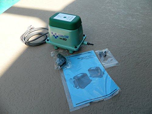 Hi-blow hp 20 Linear Air Pump Pond Aeration Septic Aerator