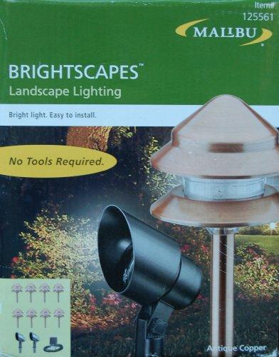 Malibu Brightscapes - Antique Copper Landscape Lighting Kit  Model LT49710TKXL