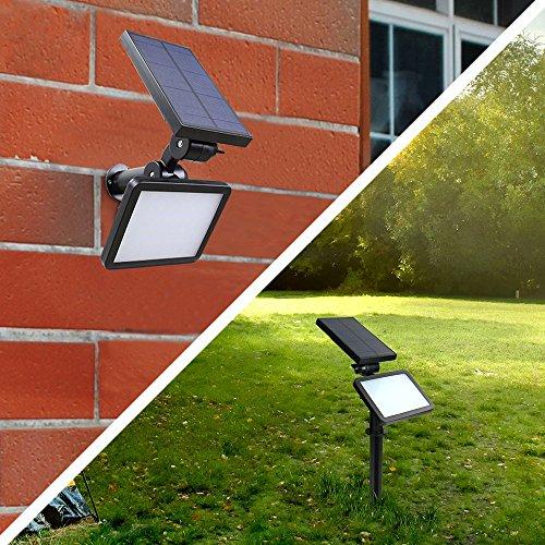 Solar Lawn Lights Outdoor Spotlight Landscape Lighting Wall Lightwhite Light