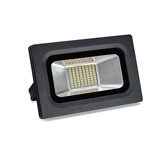 Solla 15W Outdoor LED Flood Lights Super Bright Security LightsWaterproof Floodlights Landscape Spotlights Wall Light Lamp800 LMWarm White 2700-3500K72LEDs