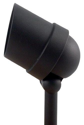 Paradise Gl22720bk Low-voltage Cast-aluminum 50-watt Halogen Floodlight Black