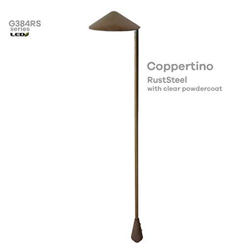 Coppertino Series - G384 Garden and Landscape Fixtures RustSteel