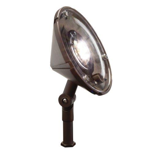 Kichler Lighting 15861BBR27 Wall Wash Accent 4W 2700K Design Pro LED 12V Landscape Fixture Bronzed Brass Finish