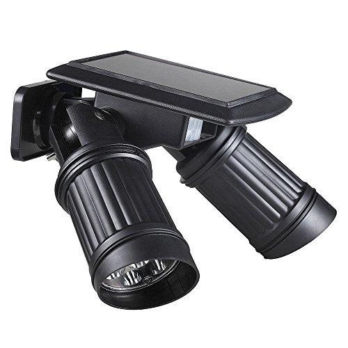 Lixada Solar Wireless Human Motion Pir Sensor 14 Leds 150lm Landscape Spotlight Lamp Convenient Light Fixture
