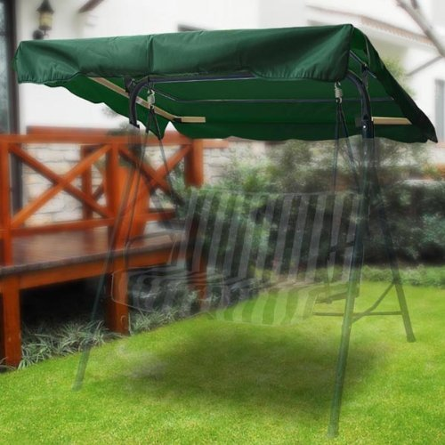 Green Outdoor Patio Swing Canopy Replacement 55ft High-quality and Durable by AV Prime Inc