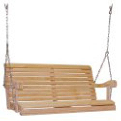 Hershy Way Cypress Grandpa Porch Swing