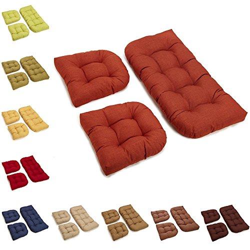 Patio Furniture Cushions Garden Swing Seat Pad Pillows Outdoor Bench Cushion