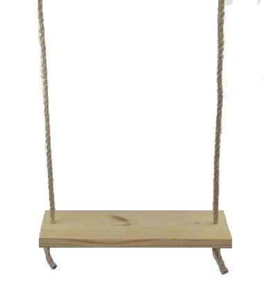Standard 22 2 Hole Wooden Tree Swing Kids Adult Outdoor Indoor