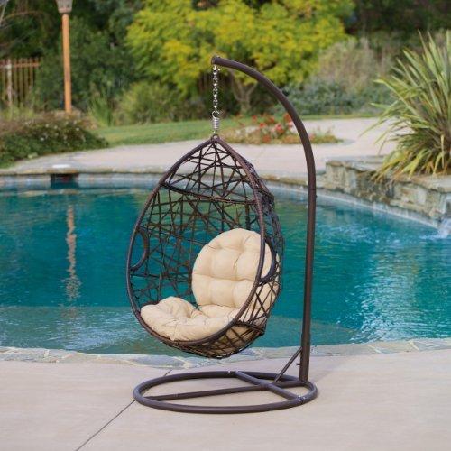 Berkley Outdoor Swinging Egg Chair
