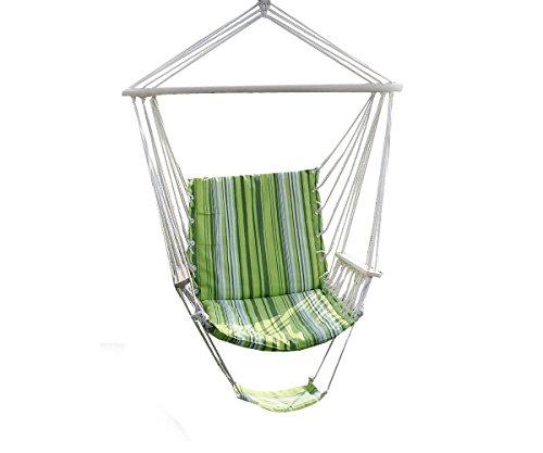 Chair Leisure Swing Hammock Hanging Outdoor Patio Garden Yard Max Green 260lbs Camping Bed New Sleeping