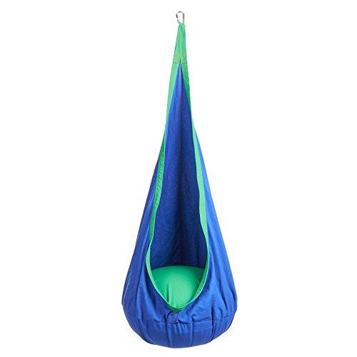 Pinty Indoor Outdoor Kid Child Pot Swing Chair Hanging Seat Hammock Nook Tent