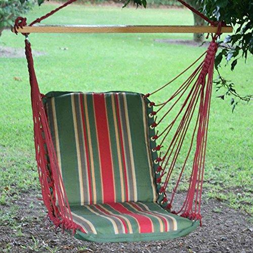 Pawleys Island Hammocks Single Cushioned Swing - Garden