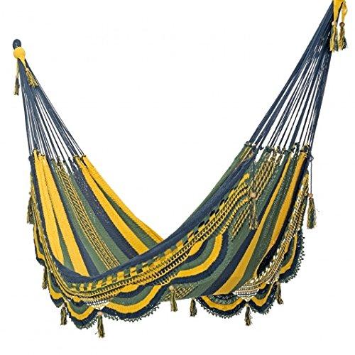 Mayan Hammocks Deluxe Mayan Crochet Hammock - Tropic