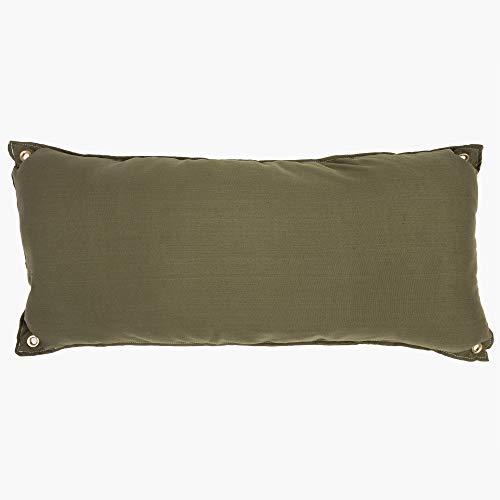 Hatteras Hammocks Traditional Hammock Pillow Willow Place - Leaf Green