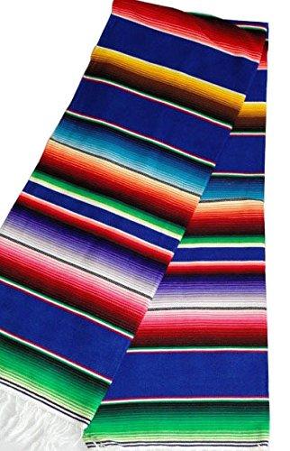 Sunnydaze Mexican Serape Hammock Blanket 62 Inch Wide X 83 Inch Long