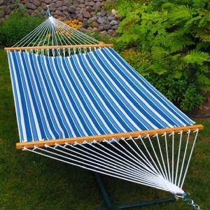 Algoma Tropical Palm Stripe Fabric Hammock
