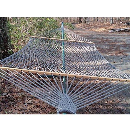 Twin Oaks Olefin Rope Woven Hammock