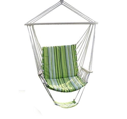 Giantex Hanging Garden Patio Yard Green Leisure Swing Hammock Chair