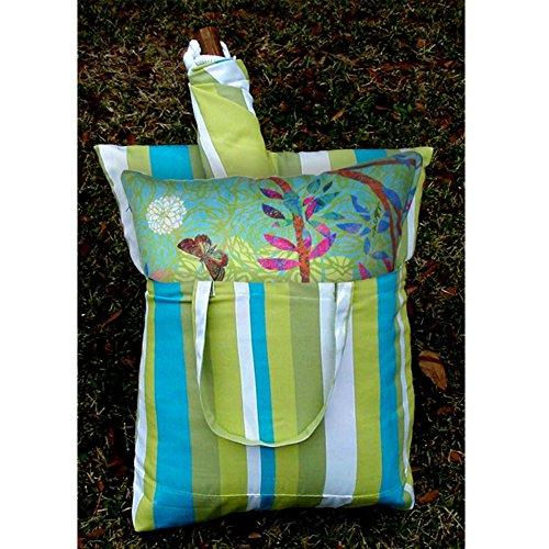 Magnolia Casual Prism Garden Hammock Chair Pillow Set