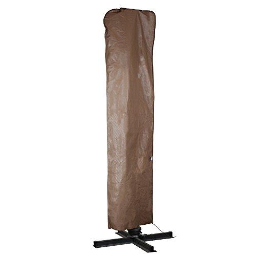 Abba Patio Outdoor Market Patio Offset Cantilever Umbrellaparasol Cover For 9-11 Ft Umbrella Water Resistant